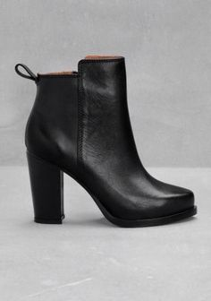 a92b4a15cef Chunky ankle boots with cleated sole. If you re after ankle boots ...