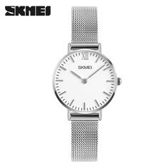 Fashion Ladies Fancy Watch Small Simple Design Band Wristwatch From Skmei Factory