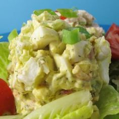 This egg salad is packed with bacon, celery, onion, and relish. A hit of chile-garlic sauce lends a bit of heat.