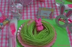 "easter table settings pinterest | Easter Table ""Kids"" Setting :)"