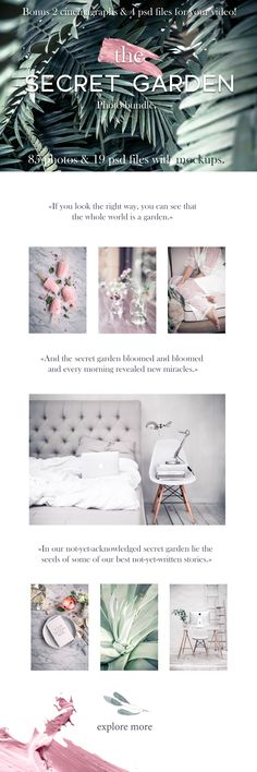 Graphic Design - Graphic Design Ideas - The secret garden.Photo bundle+bonus by Una Matison on Creative Market Graphic Design Ideas : – Picture : – Description The secret garden.Photo bundle+bonus by Una Matison on Creative Market -Read More – Cheap Stock Photos, Photo Stock Images, Web Design, Graphic Design, Email Design, The Secret Garden, Invitation Mockup, Wedding Invitation, Flat Lay Photos