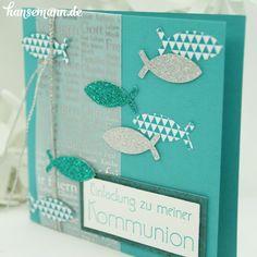 Jede Menge Ideen für Konfirmations- und Kommunionskarten findest Du bei uns im Shop ....     ----> KLICK HIER!                     ...