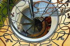 """""""Art nouveau"""" Snail stairs. - Photograph at BetterPhoto.com"""