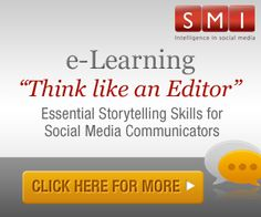 """Four-module purchasable e-learning workshop with a business orientation aimed at being """"a crash course in social media storytelling."""""""