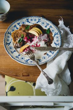 Vegan Banana Pancakes with Raspberry Coconut Cream   Cashew Kitchen