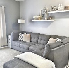 Carpet Runners On Stairs Pictures Info: 8727656262 - Wohnaccessoires Living Room Grey, Formal Living Rooms, Home Living Room, Apartment Living, Living Room Designs, Living Room Decor, Bedroom Decor, Family Room Walls, Living Room Shelves