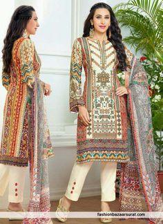 Karishma Kapoor Multicolor Designer Salwar Suit