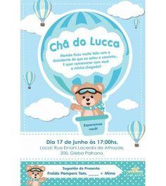 Airballoon Baby Shower invitation by glitterinvitescy on Etsy Baby Boy Birthday Cake, Fiesta Decorations, Baby Hamper, Hot Air Balloon, Baby Boy Shower, Baby Shower Invitations, Balloons, Party, Lucca