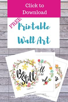 Print these six free quality PDF's of Christian printable wall art to encourage you all around your home. Many links to other great printables too! Christian World, Christian Wall Art, Christian Living, Christian Wallpaper, Encouraging Bible Quotes, Christian Prayers, Christian Quotes, Spiritual Encouragement, Easter Art
