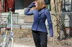 Cycle gear: Lululemon Ride On Blazer by Lovely Bicycle!, via Flickr