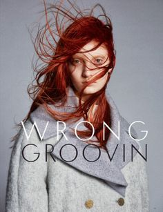 Codie Young by Andy Eaton for Black Magazine #20 Fall 2013 #red hair