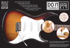 Save $ 60.99 order now AXL Do-It-Yourself Electric Guitar Kit at Cheap Guitars F