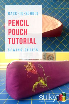 How to sew and embel