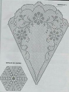 Archives de l& - Filet Crochet, Crochet Doily Diagram, Crochet Doily Patterns, Crochet Round, Crochet Chart, Thread Crochet, Crochet Designs, Crochet Doilies, Crochet Flowers