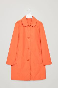 COS | Rounded collar coat