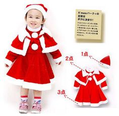 brand new children s outfits girls christmas deer outfits childrens long sleeve dresses cloak hat xmas - Christmas Clothes For Kids