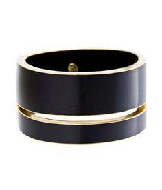 Bracelet noir by MANGO