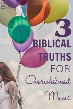 As a mom, wife and homemaker, it's easy be overwhelmed and feel like I can't do it all. Thankfully we can hold onto these three Biblical truths when we feel overwhelmed! Lamaze Classes, Overwhelmed Mom, Fantastic Baby, Baby Arrival, Christian Parenting, Pregnant Mom, Pregnancy Tips, Parenting Hacks, Breastfeeding