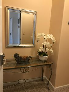 Great Location-Steps To Beach-Freshly Decorated,fourth building from the ocean � Pool Bathroom, Bathrooms, Wildwood Crest, Microwave Grill, Heating And Air Conditioning, Granite Counters, Rental Property, Living Room Kitchen, Washer And Dryer