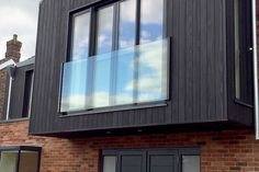 Energy efficiency is big for cutting down on energy waste & bills. By using quality, thick glass with a well fitted frame can help reduce wastage and add pennies back to your pocket in savings. Ceiling Windows, Windows And Doors, Energy Efficient Windows, Energy Efficiency, Glass Shower Panels, Juliette Balcony, Big Shower, Glass Balcony, Laminated Glass