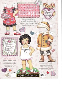 Mary Engelbreit at her best! Dont miss out on this rare collection of Mary Engelbreits original paper dolls from her beloved Home Companion