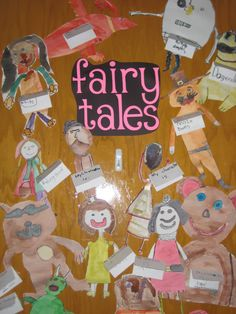 Literacy Night = Fairy Tale door.  Who is your favorite character?  Activities for the whole school.