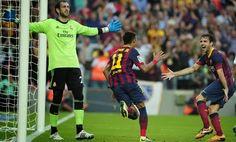 Sleight of Alexis and goal Neymar for celebration Barca against Real | enko-football