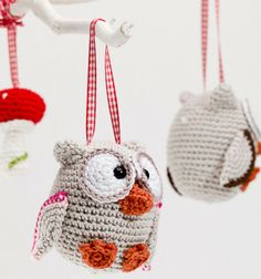 Pim, pam pet uil Availability: In Stock Knitted Owl, Crochet Birds, Love Crochet, Diy Crochet, Crochet Crafts, Crochet Baby, Crochet Projects, Crochet Animals, Owl Crafts