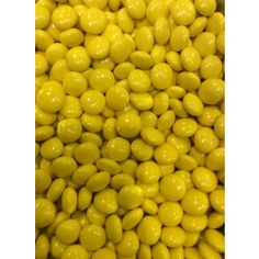 Yellow Chocolate Buttons