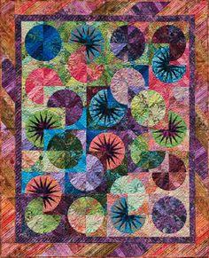 Bali Fever Bright Fabric Kit |  Judy Niemeyer  | Quilting |