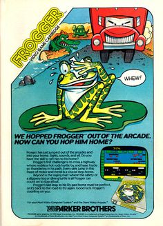 frogger atari