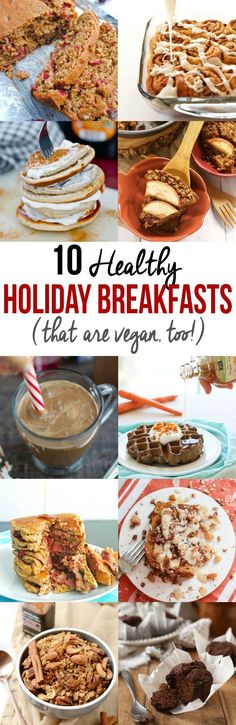 10 Healthy Holiday Breakfast Recipes (that are vegan, too!)
