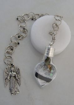 Archangel Samael-The Angel of Defeating Negativity, Greif and Obstacles Dowsing Pendulum