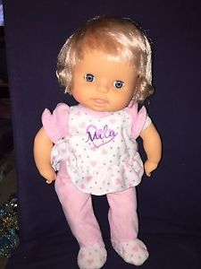 Baby Doll Speaks TURKISH named Mila Adorable Moves  | eBay