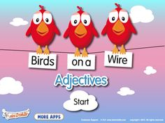 Birds on a Wire App Reviews  -  Pinned by @PediaStaff – Please Visit http://ht.ly/63sNt for all our pediatric therapy pins