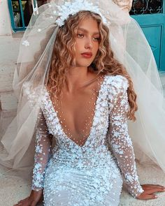 "BERTA on Instagram: ""Soon. New BERTA campaign."" Retro Wedding Dresses, Bohemian Wedding Dresses, Wedding Gowns, Muse By Berta, Berta Bridal, Beautiful Bride, Wedding Planning, Wedding Ideas, Instagram"
