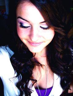 Lisa Cimorelli. I LOVE her hair and makeup!!