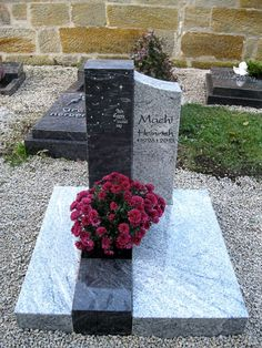 Tombstone Designs, Grave Monuments, Cemetery Decorations, Cemetery Headstones, Memorial Stones, Funeral, Granite, Sidewalk, Memories
