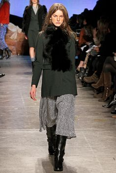 Band of Outsiders RTW A/W 2012/13.  Model - Magdalena Fiolka.