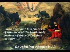 A Woman And A Red Dragon With 7 Heads And 10 Horns (Revelation 12:1-17)