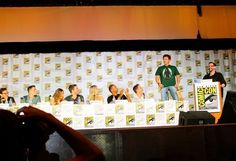 """For the chance to come onstage, jump on a chair, and wear your Arrow shirt with pride. 