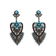 Chandelier Earrings by Ana Pamplona Acessorios