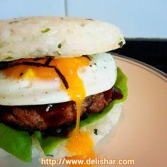 Delishar: Japanese Rice Burger