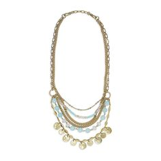 Sand + Sky Convertible Layered Necklace $98 N299 #spring #necklace #layered https://www.chloeandisabel.com/boutique/mariesluxurygirljewels