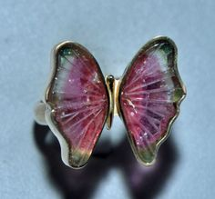 Top Carvings Tourmaline Butterfly Carvings Tourmaline Carving AAA Quality