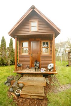 I could live here... Dee Williams: Tiny House, Big Change