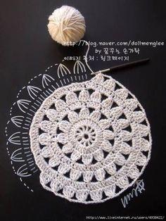 Transcendent Crochet a Solid Granny Square Ideas. Wonderful Crochet a Solid Granny Square Ideas That You Would Love. Crochet Diy, Mandala Au Crochet, Crochet Motifs, Crochet Diagram, Crochet Squares, Love Crochet, Crochet Crafts, Crochet Doilies, Crochet Flowers