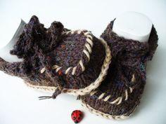 Babyschuhe Babyschühchen Mokkasin von diestrickerin auf Etsy, $15,00