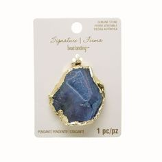 Sedona white gray druzy pendants by bead landing pendants purchase the signature blue druzy agate slice pendant by bead landing at michaels mozeypictures Image collections