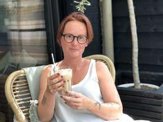 ijskoffie zelf maken: zonder roomijs dus redelijk gezond! - Familie over de kook Frappuccino